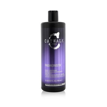Catwalk Fashionista Violet Conditioner - For Blondes and Highlights (Not Pump)  750ml/25.36oz