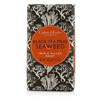 Black Sea Mud & Seaweed Triple Milled Soap  158g/5.6oz