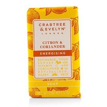 Crabtree & Evelyn Citron & Coriander Jabón Energizante  158g/5.5oz