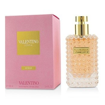 Valentino Donna Acqua Eau De Toilette Spray  100ml/3.3oz