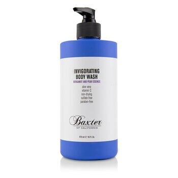 בקסטר של קליפורניה Invigorating Body Wash - Bergamot and Pear Essence  473ml/16oz