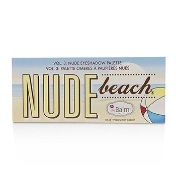 Nude Beach Vol. 3 Nude Eyeshadow Palette 9.6g/0.336oz
