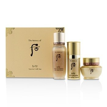 Bichup Royal Anti-Aging Trial Set: 1x First Care Moisture Anti-Aging Essence, 1x Self-Generating Anti-Aging Essence, 1x Cream  3pcs