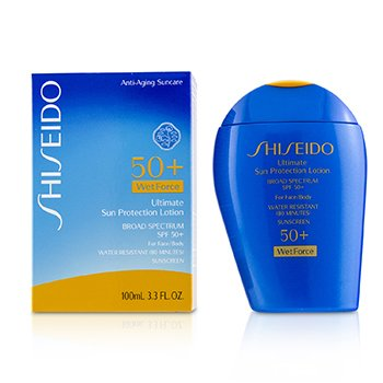 Ultimate Sun Protection Lotion WetForce For Face & Body SPF 50+ 100ml/3.3oz