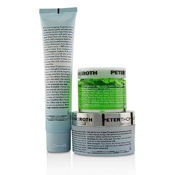 Soak It Up Kit: Water Drench Cloud Cream Moisturizer 50ml + Water Drench Cloud Cream Cleanser 57ml + Cucumber Gel Mask 50ml  3pcs