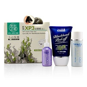 XP3 Acne Clear Set - Specially Formulated for Blackheads Remove  3pcs