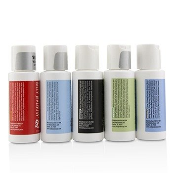 Value Travel Kit: Facial Cleanser 60ml + Shave Lather 60ml + Shampoo 60ml + Body Scrub 60ml + Body Moisturizer 60ml  5pcs+1 Bag