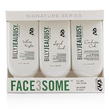 臉部清潔組合Face3Some Kit: 潔面乳+去角質潔面乳+溫和日常潔面乳  3pcs
