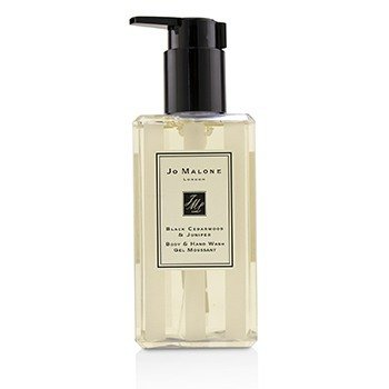 Black Cedarwood & Juniper Body & Hand Wash  250ml/8.4oz