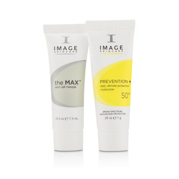 The Max Trial Kit: 1x Cleanser, 1x Serum, 1x Cream, 1x Masque, 1x Ultimate Protection Moisturizer SPF50  5pcs