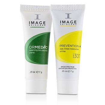 Ormedic Trial Kit: 1x Cleanser, 1x Serum, 1x Gel Masque, 1x Cream, 1x Tinted Moisturizer SPF30  5pcs