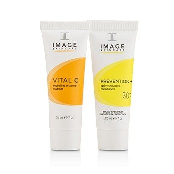 Vital C Trial Kit: 1x Cleanser, 1x Serum, 1x Repair Cream, 1x Enzyme Masque, 1x Moisturizer SPF 30  5pcs