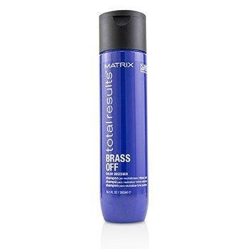 Total Results Brass Off Color Obsessed Shampoo  300ml/10.1oz