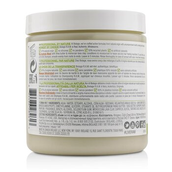 Biolage R.A.W. Re-Hydrate Clay Mask (For Dry, Dull Hair)  400ml/14.4oz