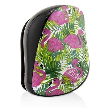 Compact Styler On-The-Go Detangling Hair Brush - # Skinny Dip Palm Print  1pc
