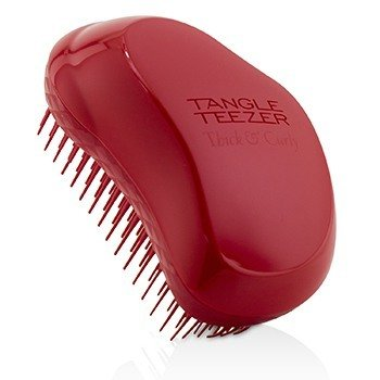 Thick & Curly Detangling Hair Brush - # Salsa Red (For Thick, Wavy and Afro Hair) 1pc