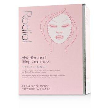 Pink Diamond Lifting Face Mask  8x20g/0.7oz