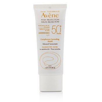 Complexion Correcting Shield Mineral Sunsreen SPF 50+ - #Light (For Sensitive Skin)  40ml/1.35oz