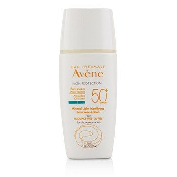 Mineral Light Mattifying Sunscreen Face Lotion SPF 50+ - For Oily, Acne-Prone Skin  50ml/1.7oz