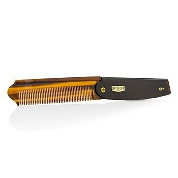 CT7 Flip Comb - # Tortoise Shell Brown (Unboxed)  1pc