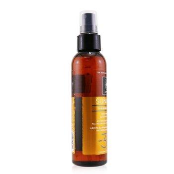 Suncare Tanning Body Oil SPF 30 With Sunflower & Carrot  150ml/5oz