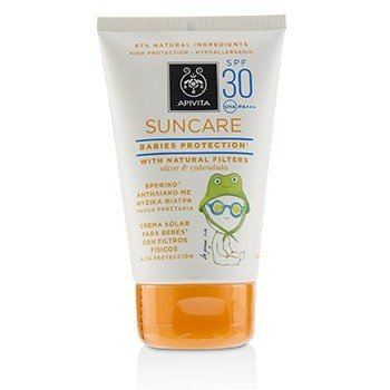 Suncare Babies Protection SPF 30 With Natural Olive & Calendula  100ml/3.4oz