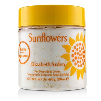 Sunflowers Honey Drops Body Cream  500ml/16.9oz