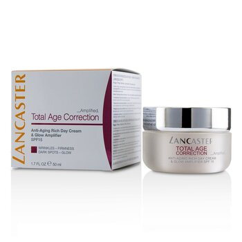 Total Age Correction Amplified - Anti-Aging Rich Day Cream & Glow Amplifier  50ml/1.7oz