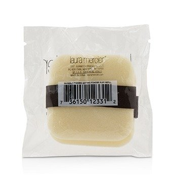 Invisible Pressed Setting Powder Puff 2 Pack  -