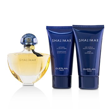 Shalimar Coffret: Eau De Toilette Spray 50ml + Shower Gel 75ml + Body Lotion 75ml  3pcs