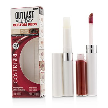 Outlast All Day (Moisturizing Topcoat + Colorcoat)  2pcs