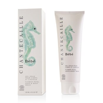 Bebe Flower Petal Hair & Body Wash  120ml/4oz