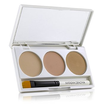 On Cover Invisible Correcting Concealer Palette  3x2ml/2.03g