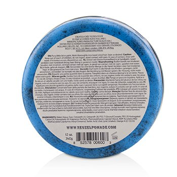 Blue Pomade (Strong Hold, Water Soluble) 340g/12oz
