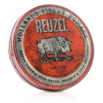 Red Pomade (Water Soluble, High Sheen)  113g/4oz