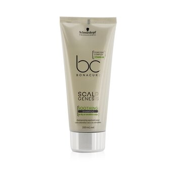 BC Scalp Genesis Soothing Shampoo (For Dry or Sensitive Scalps)  200ml/6.7oz