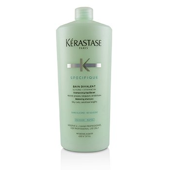 Specifique Bain Divalent Balancing Shampoo (Oily Roots, Sensitised Lengths) 1000ml/34oz
