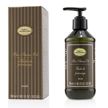 Pre Shave Oil - Oud (With Pump)  240ml/8.1oz