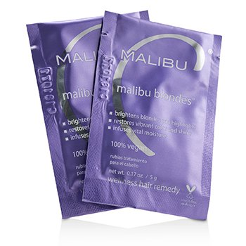 Malibu Blondes Wellness Hair Remedy  12x5g/0.17oz