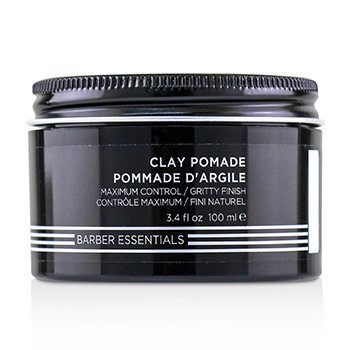 Brews Clay Pomade (Maximum Control / Gritty Finish)  100ml/3.4oz