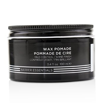 Brews Wax Pomade (Mild Control / Shine Finish)  100ml/3.4oz