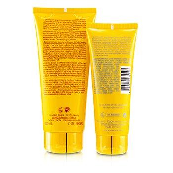 SunSet Kit: Sun Care Cream SPF 20 200ml/7oz + After Sun Moisturizer 100ml/3.4oz  2pcs