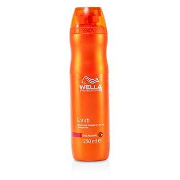 Enrich Moisturizing Shampoo For Dry & Damaged Hair - Fine/Normal (MFG Date: May 2015)  250ml/8.4oz