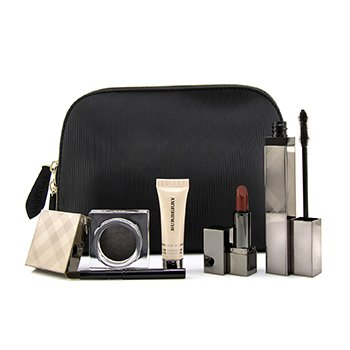 MakeUp Set (1x Lip Colour, 1x Base, 1x Mascara, 1x Eye Shadow)  4pcs+1bag