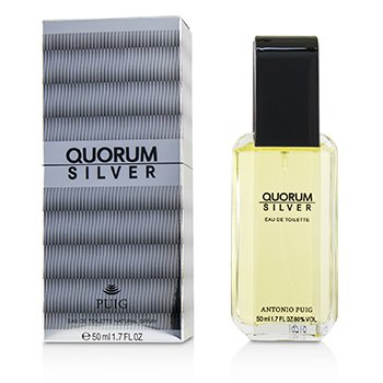 Quorum Silver Eau De Toilette Spray  50ml/1.7oz
