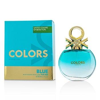 Colors Blue Eau De Toilette Spray  80ml/2.7oz