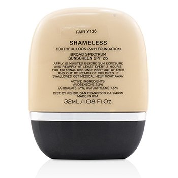 24H粉底液 Shameless Youthful Look 24 H Foundation SPF25  32ml/1.08oz