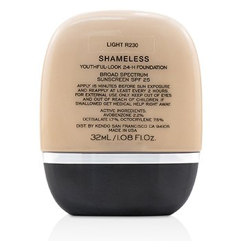 24H粉底液 Shameless Youthful Look 24H Foundation SPF25  32ml/1.08oz
