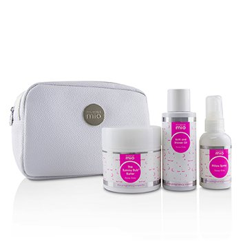 Sleep Easy Mama Kit: The Tummy Rub Butter  - 120g/4.1oz + Bath & Shower Oil 100ml/3.4oz + Pillow Spray 53ml/1.8oz + 1bag  3pcs+1bag