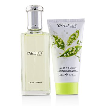 Lily Of The Valley Coffret: Eau De Toilette Spray 50ml/1.7oz + Nourishing Hand Cream 50ml/1.7oz  2pcs